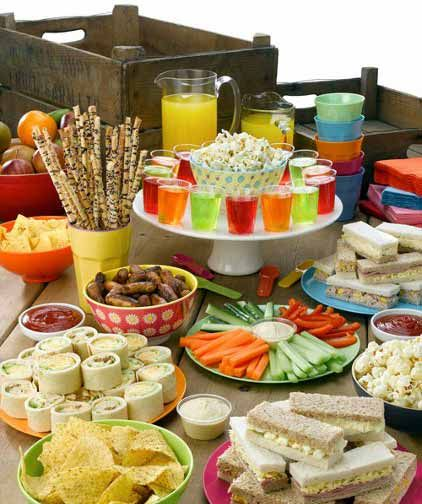 HOW TO THROW A KIDS OUTDOOR PARTY