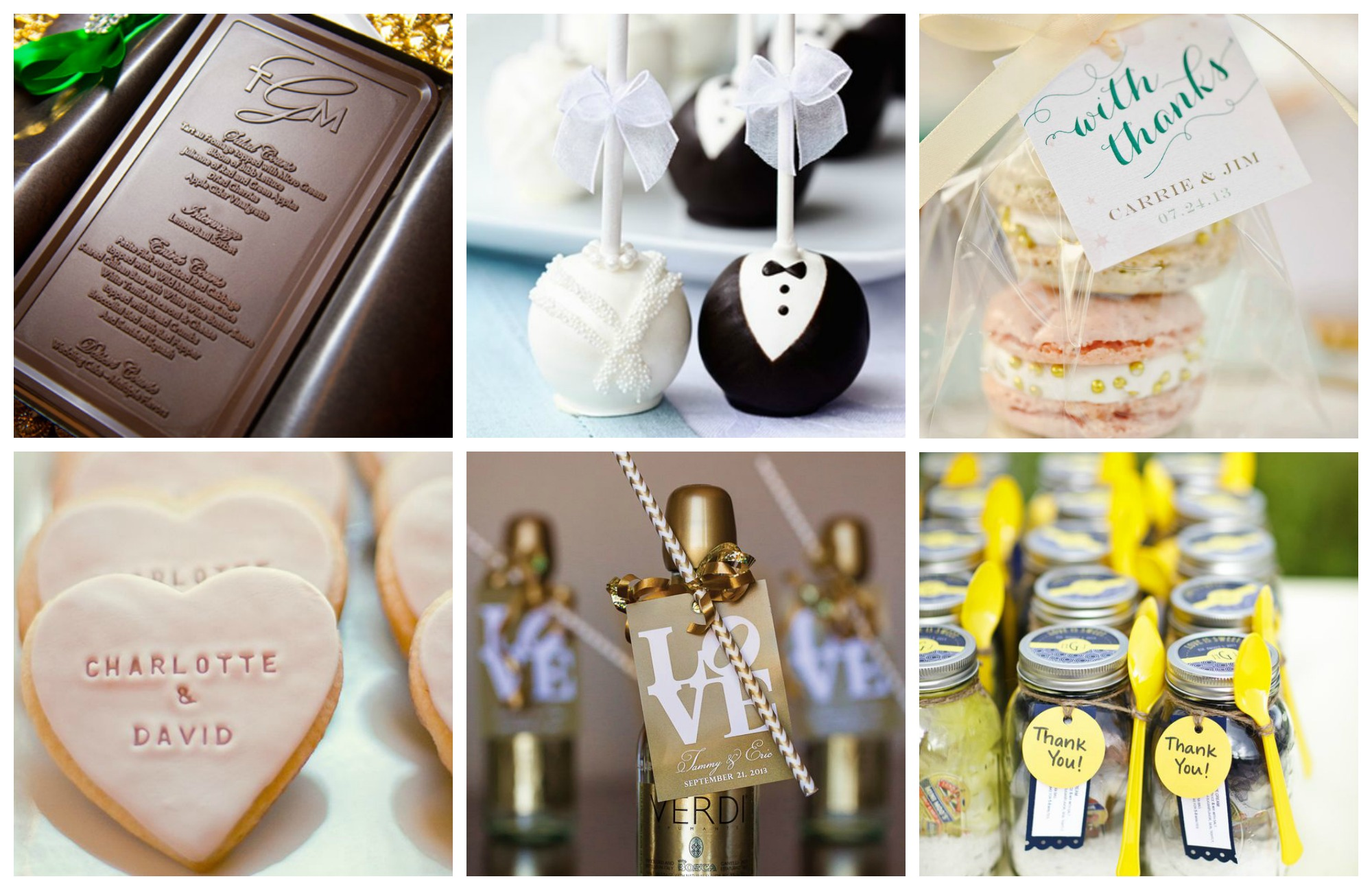 edible fall wedding favors the hippest pics
