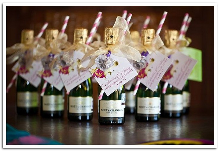 Mini Bottles Of Champagne Wedding Favors Image Collections Wedding